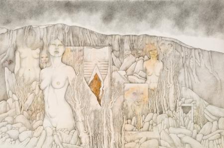 Gregor Traversa, Tal der Verlorenen und Einsamen (Garten der Agonie)