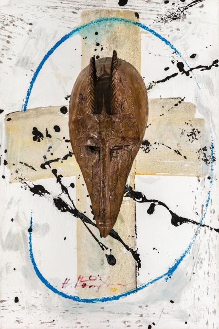 Hans Staudacher, Ohne Titel (Maske) / untitled (mask)
