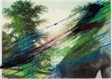 Arnulf Rainer, Ohne Titel (Landschaft/männlicher Akt) / untitled (landscape/male nude)
