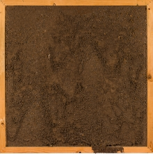 Otto Mühl, Ohne Titel (Materialbild) / untitled (material painting)