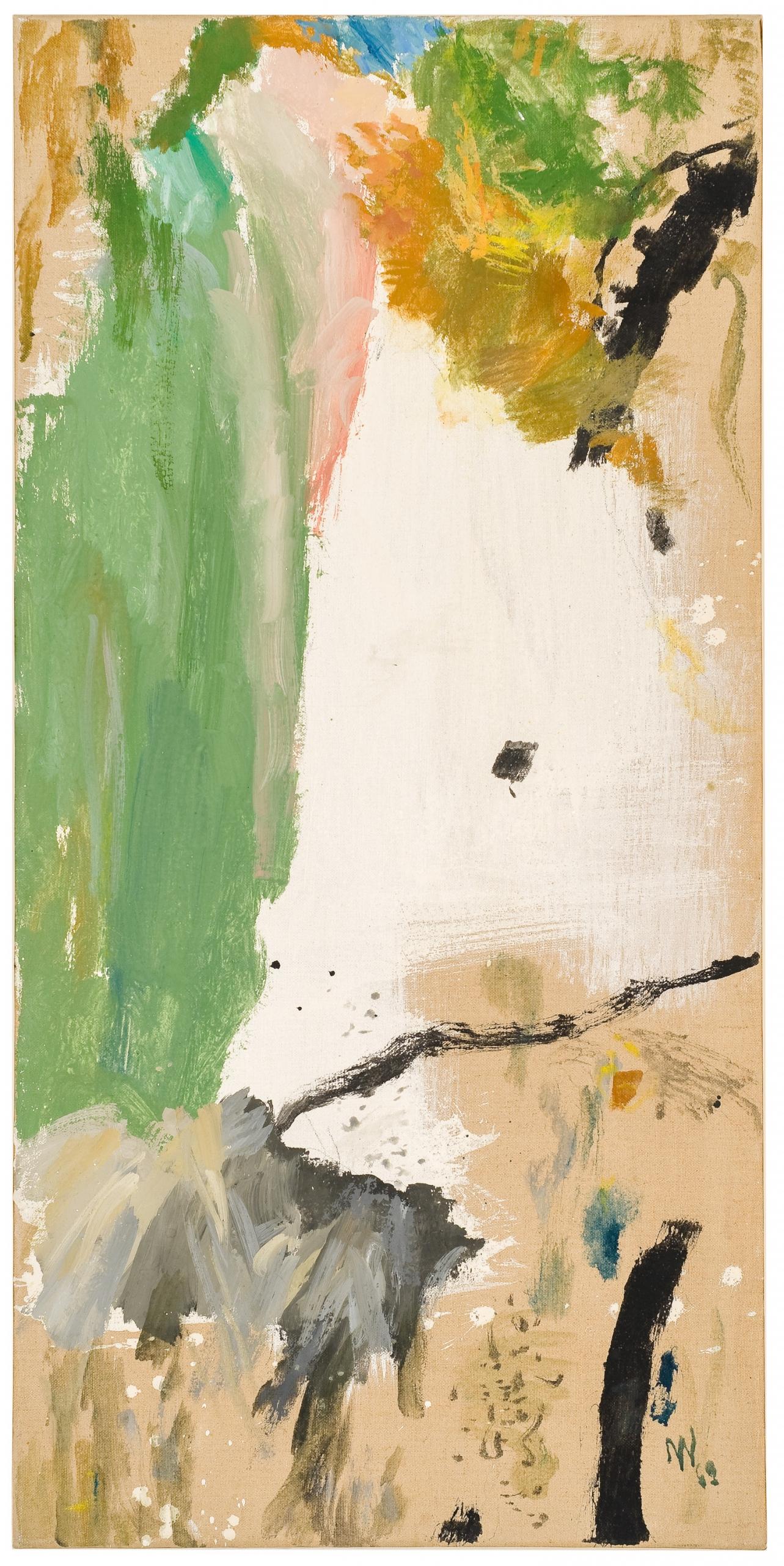 Max Weiler, Malerei aus Landschaftsteilen 4
