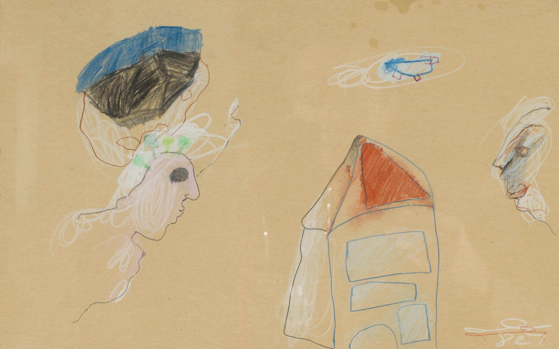 Oswald Oberhuber, Ohne Figuren und Architektur