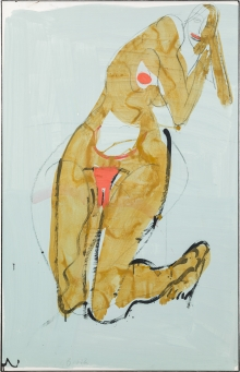 Gerald Brettschuh, Kniender weiblicher Akt