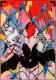 Peter Sengl, Neunzuzwei-Sittichmalerie / Stirnstab
