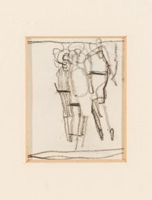 Egon Schiele, Ohne Titel (Skizze)