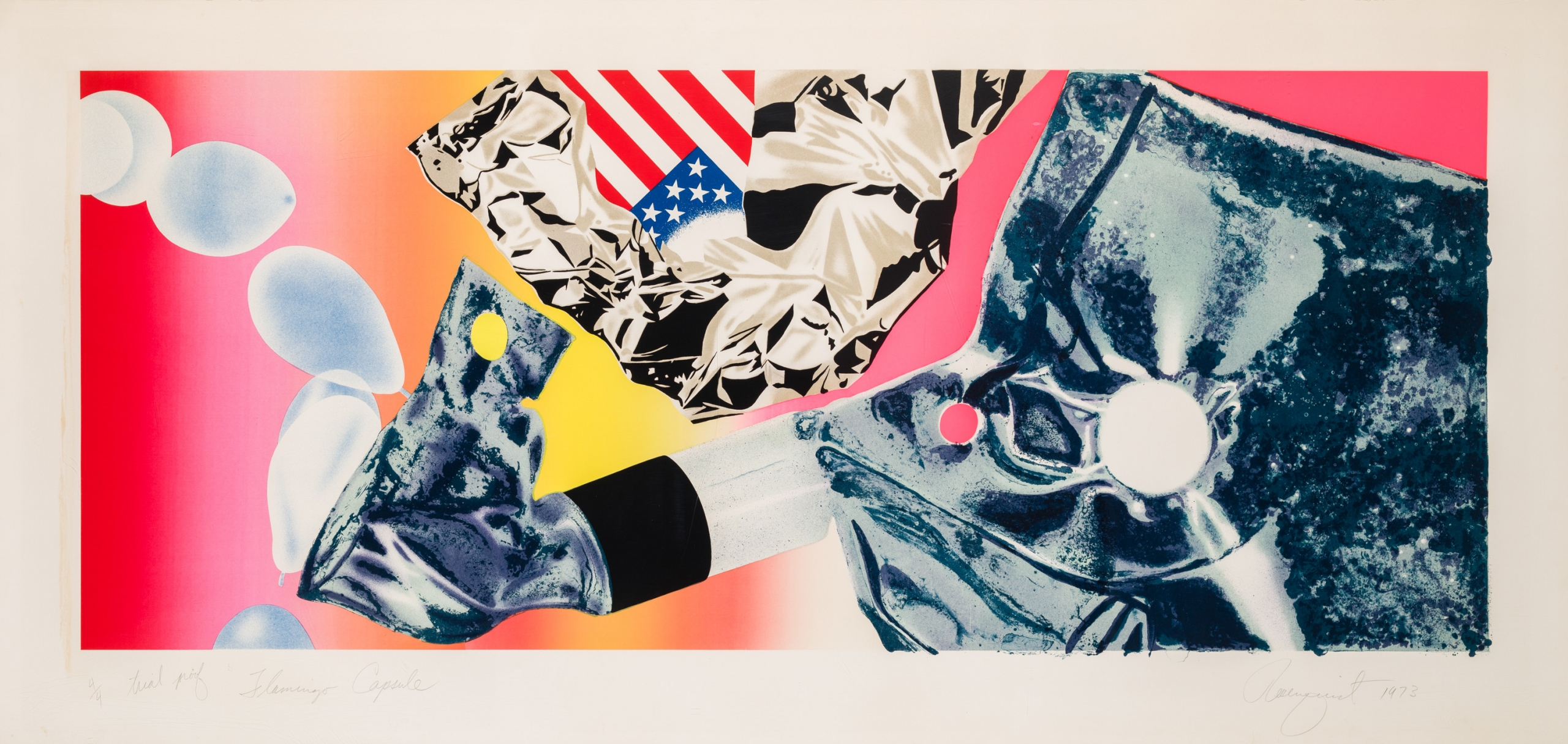 James Rosenquist, Flamingo Capsule