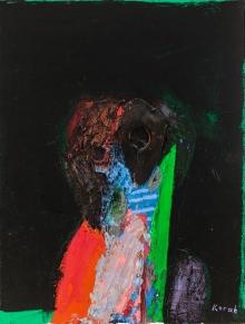 Karl Korab, Ohne Titel (Maske)