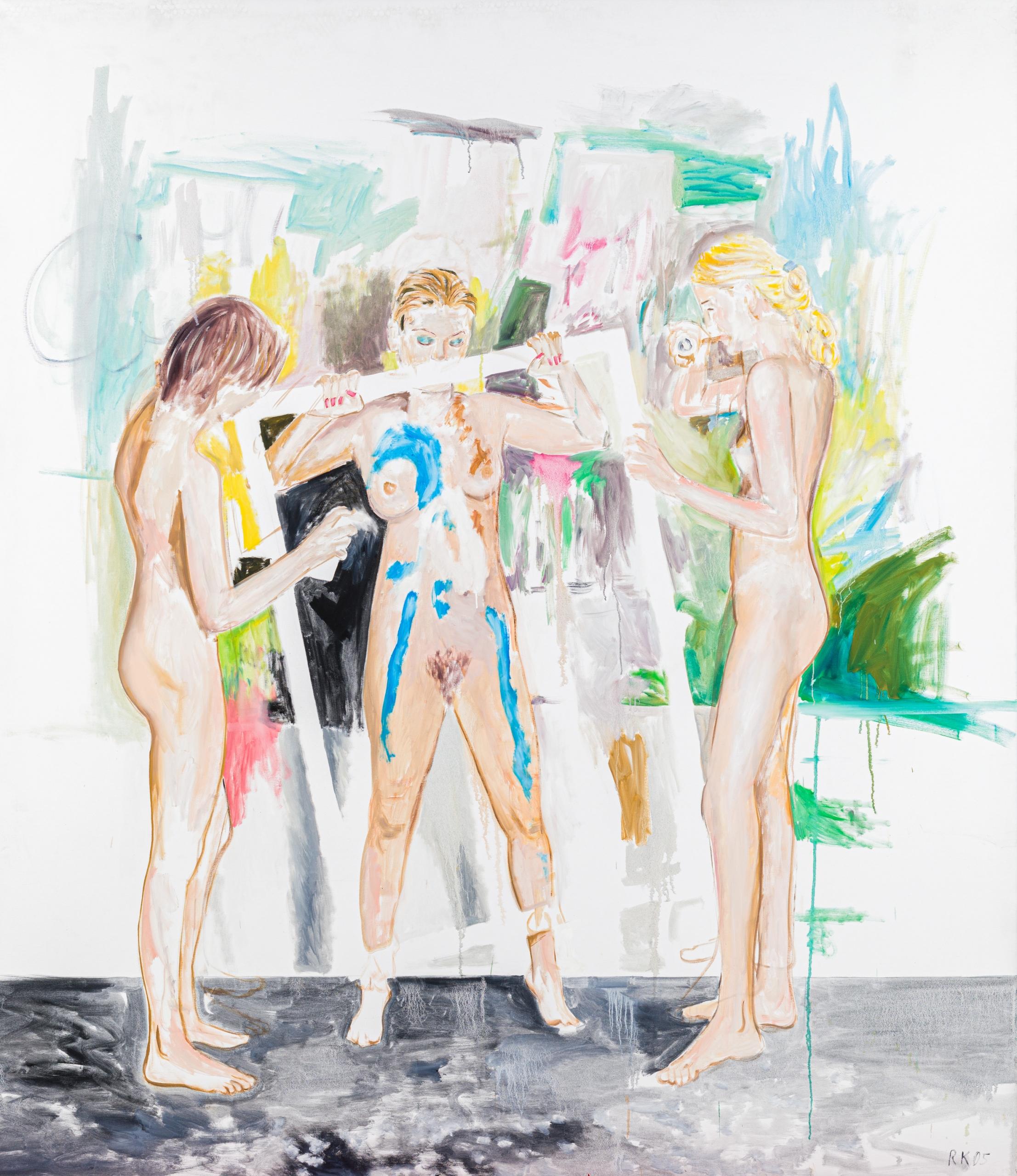 Ronald Kodritsch, Rahmenhandlung (white Frame)