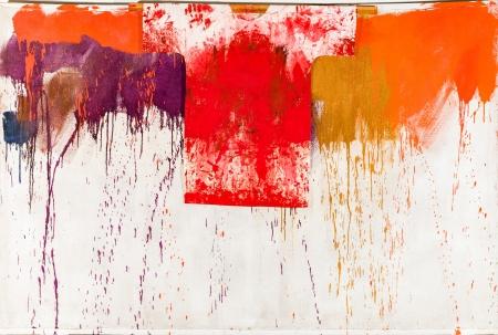 Hermann Nitsch, Ohne Titel (Schüttbild mit Malhemd) / untitled