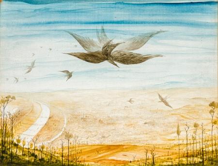 Anton Lehmden, Vogelflug über Wien