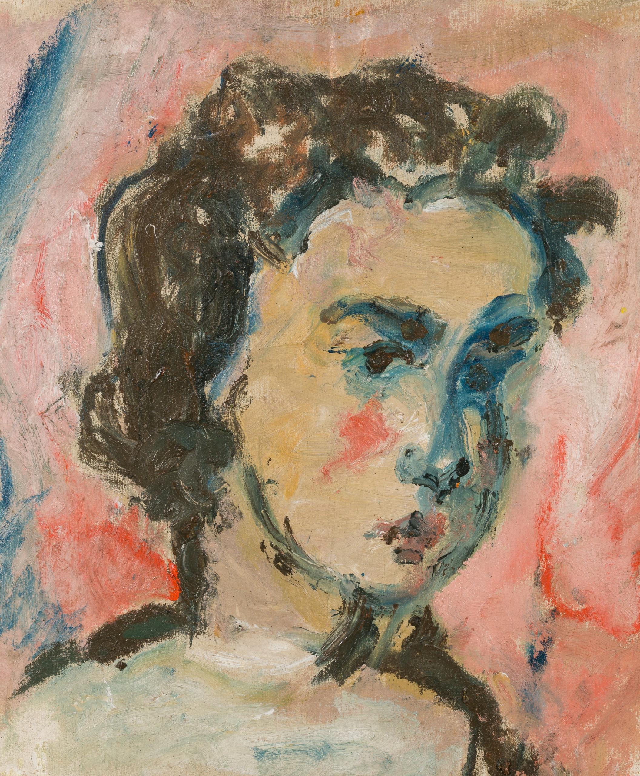 Jean Egger, Mädchenbildnis