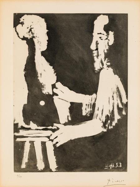 Pablo Ruis Picasso, Sculpteur au travail