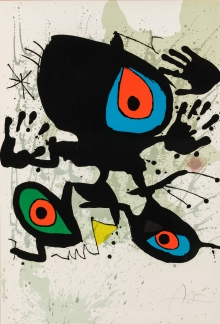 Joàn Miró, Homage to Miro