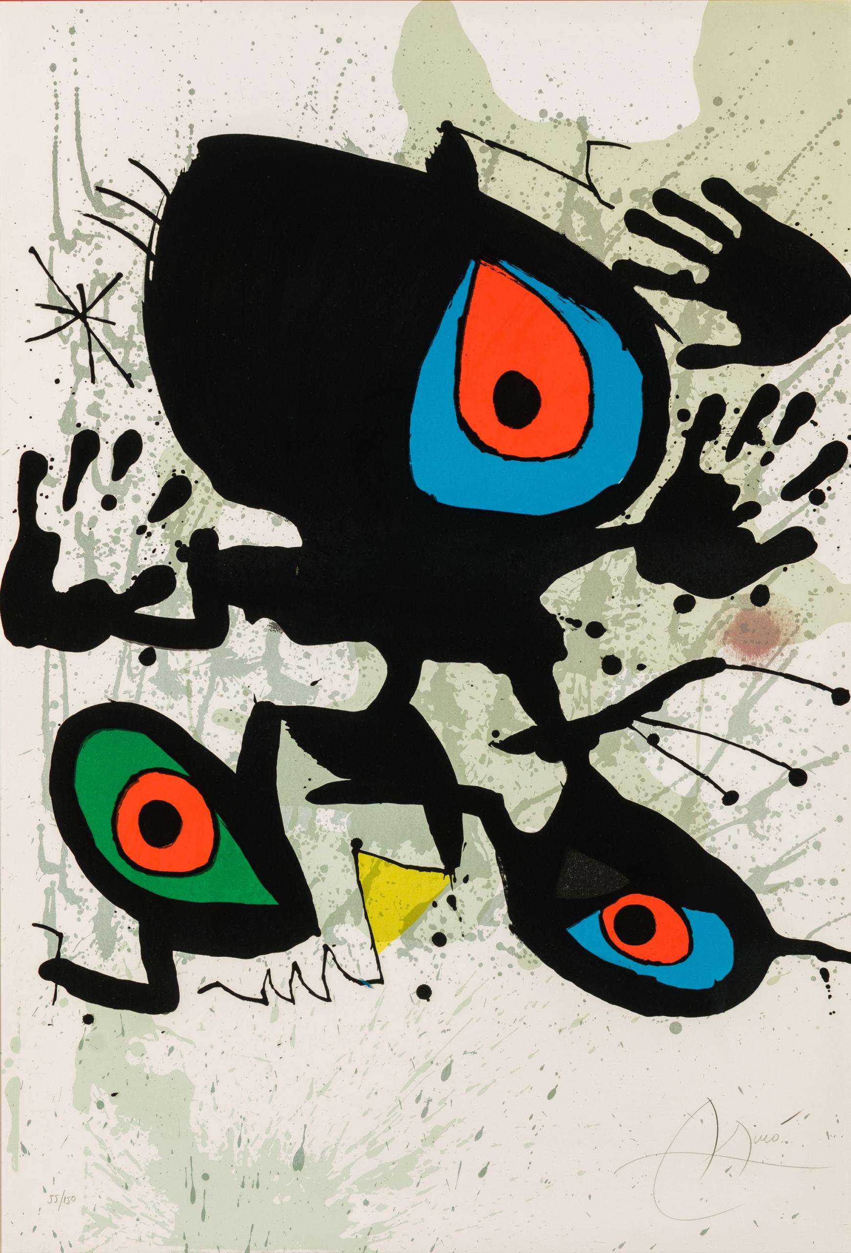 Joàn Miró, Homage to Miro