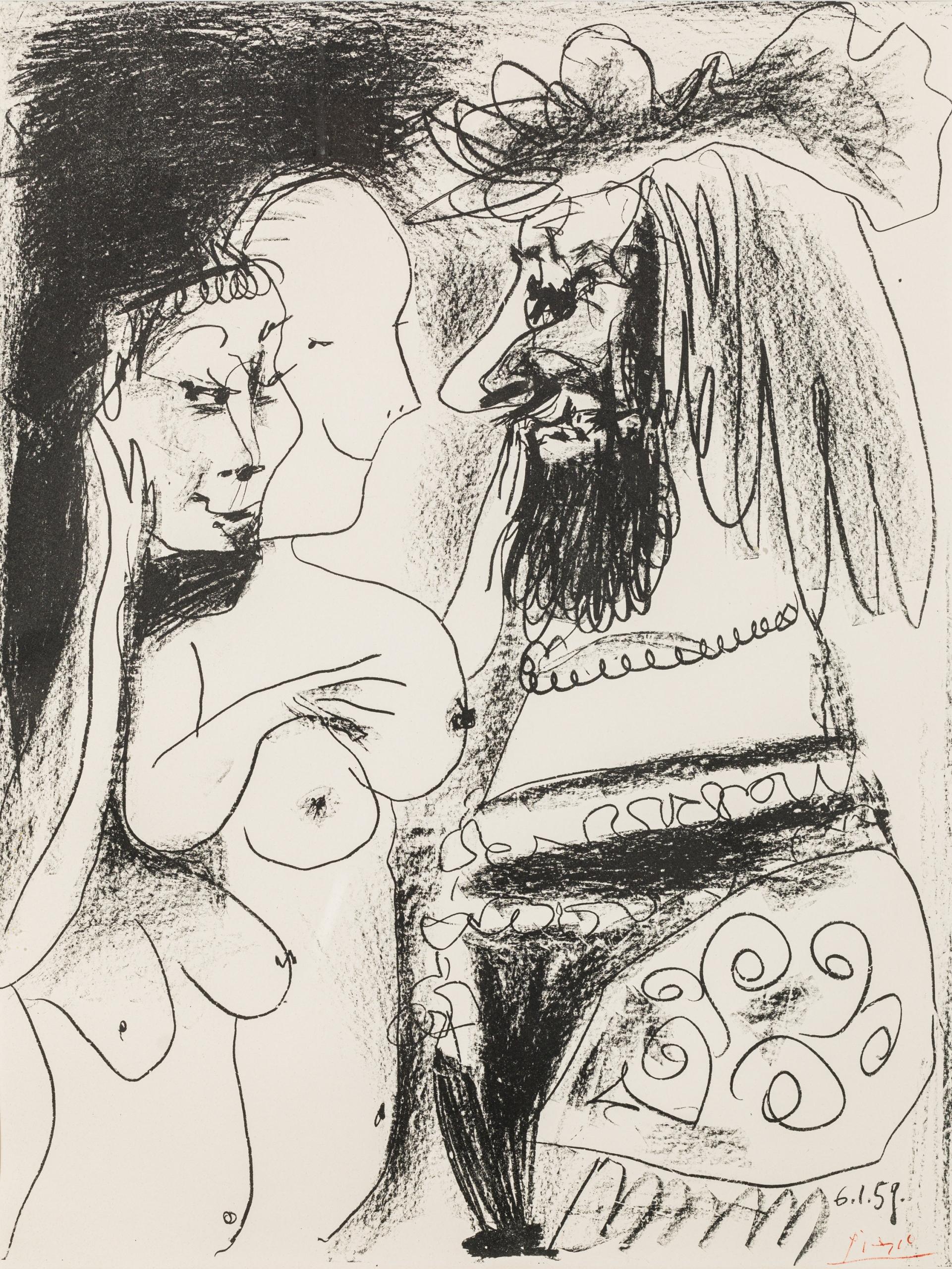 Pablo Ruis Picasso, Le Vieux Roi
