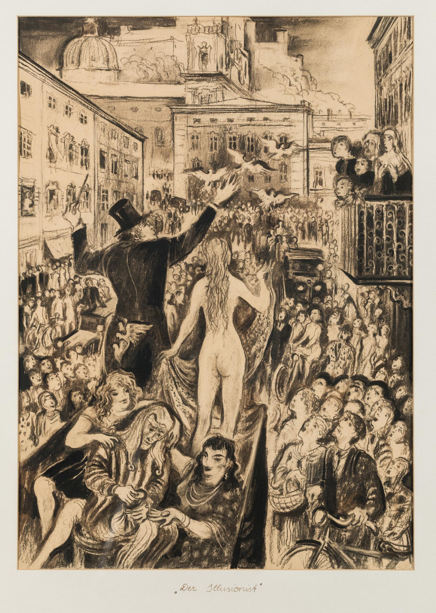 Albert Birkle, Der Illusionist (am alten Markt in Salzburg)