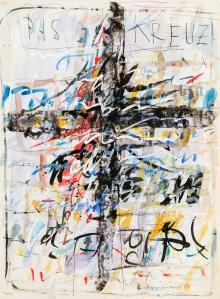 Hans Staudacher, Das Kreuz