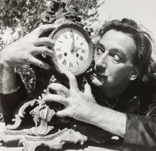 "Charles Henry Hewitt, Salvador Dali (aus der Fotostrecke ""A day with Dali"", Picture Post)"