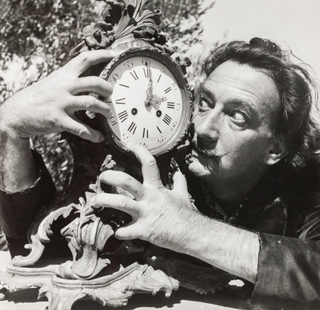 """Charles Henry Hewitt, Salvador Dali (aus der Fotostrecke """"A day with Dali"""", Picture Post)"""