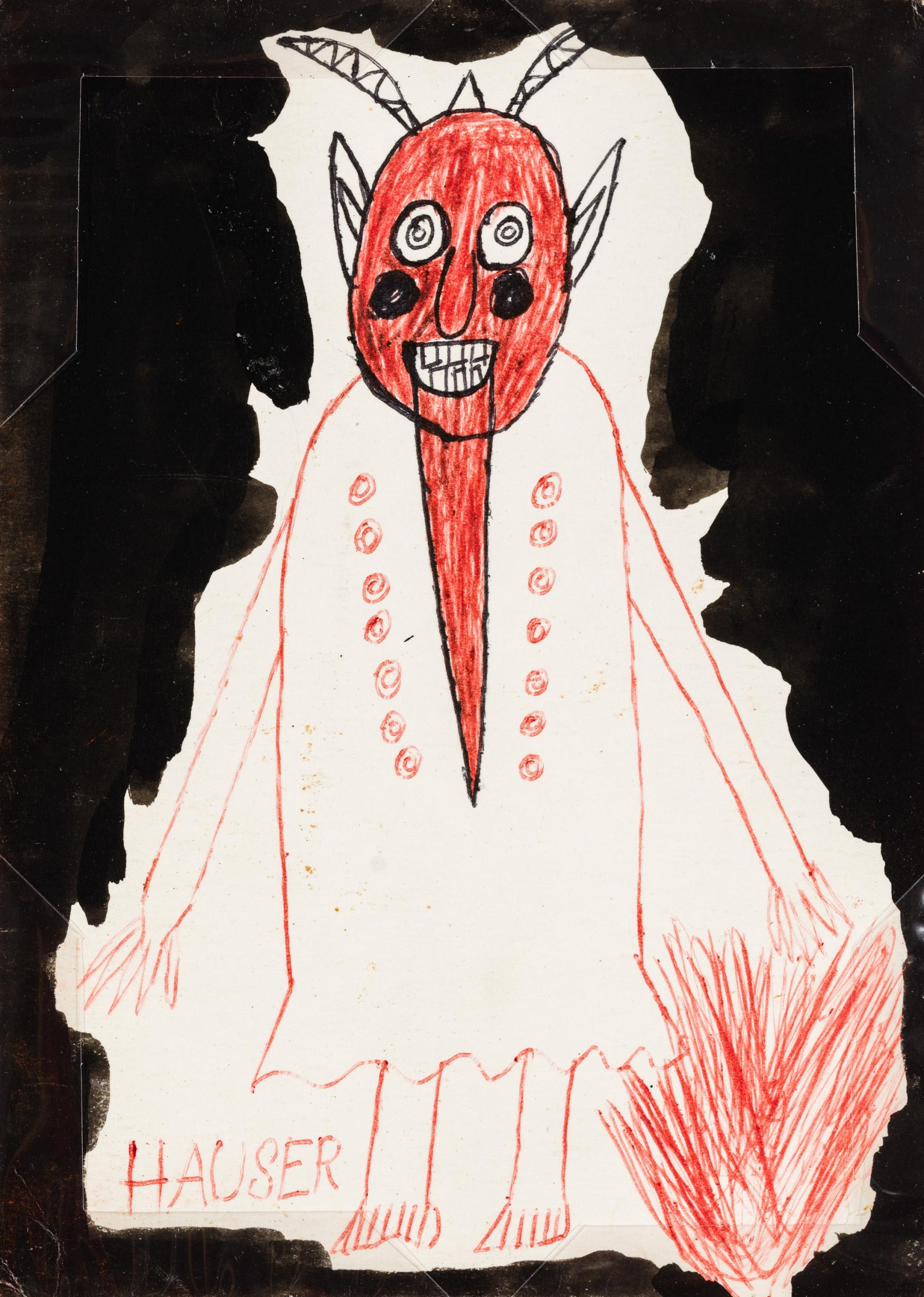 Johann Hauser, Teufel