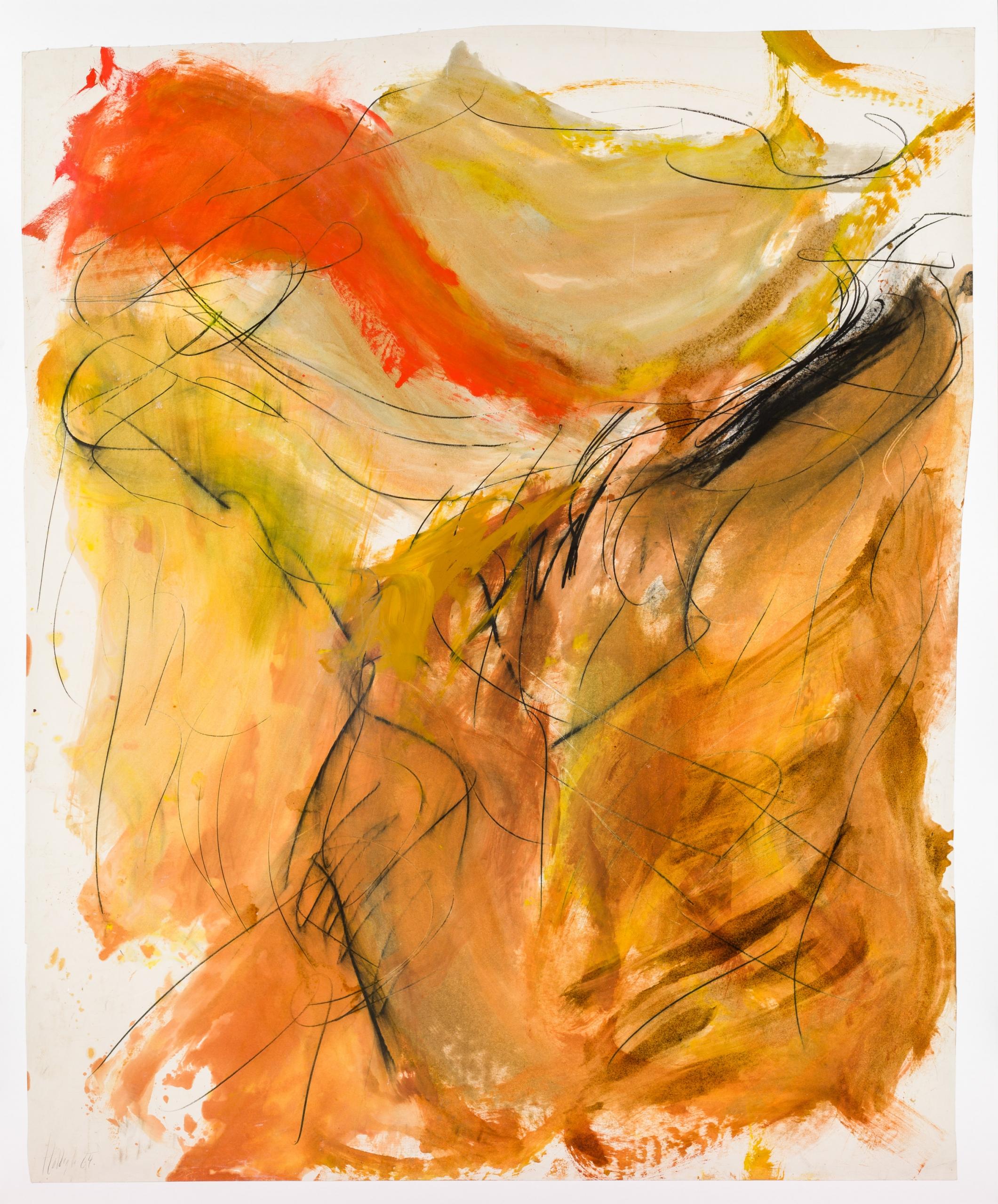 Wolfgang Hollegha, Ohne Titel / untitled