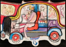 Franz Ringel, Auto