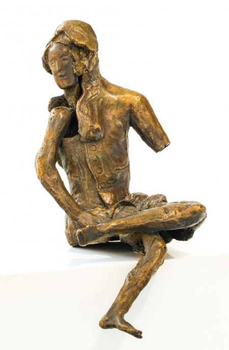 Heinz Stangl, Sitzende Figur