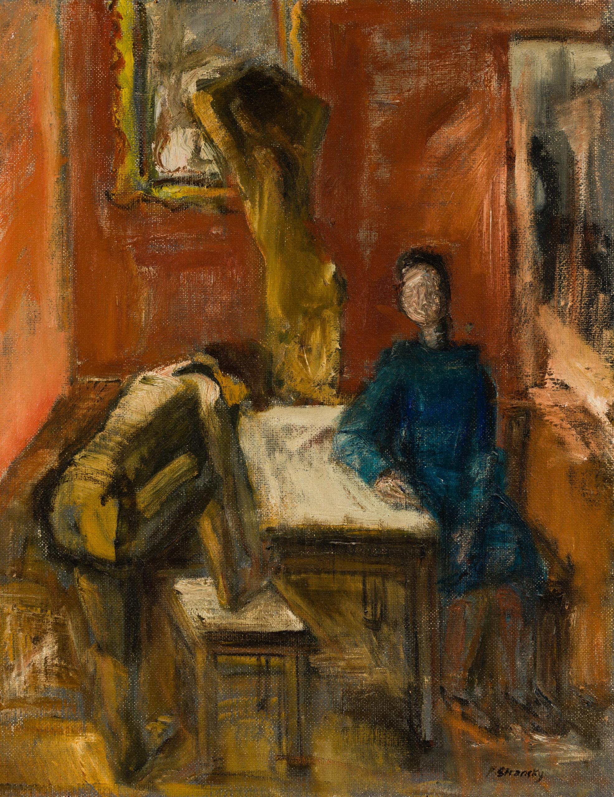 Ferdinand Stransky, Drei Figuren im Raum