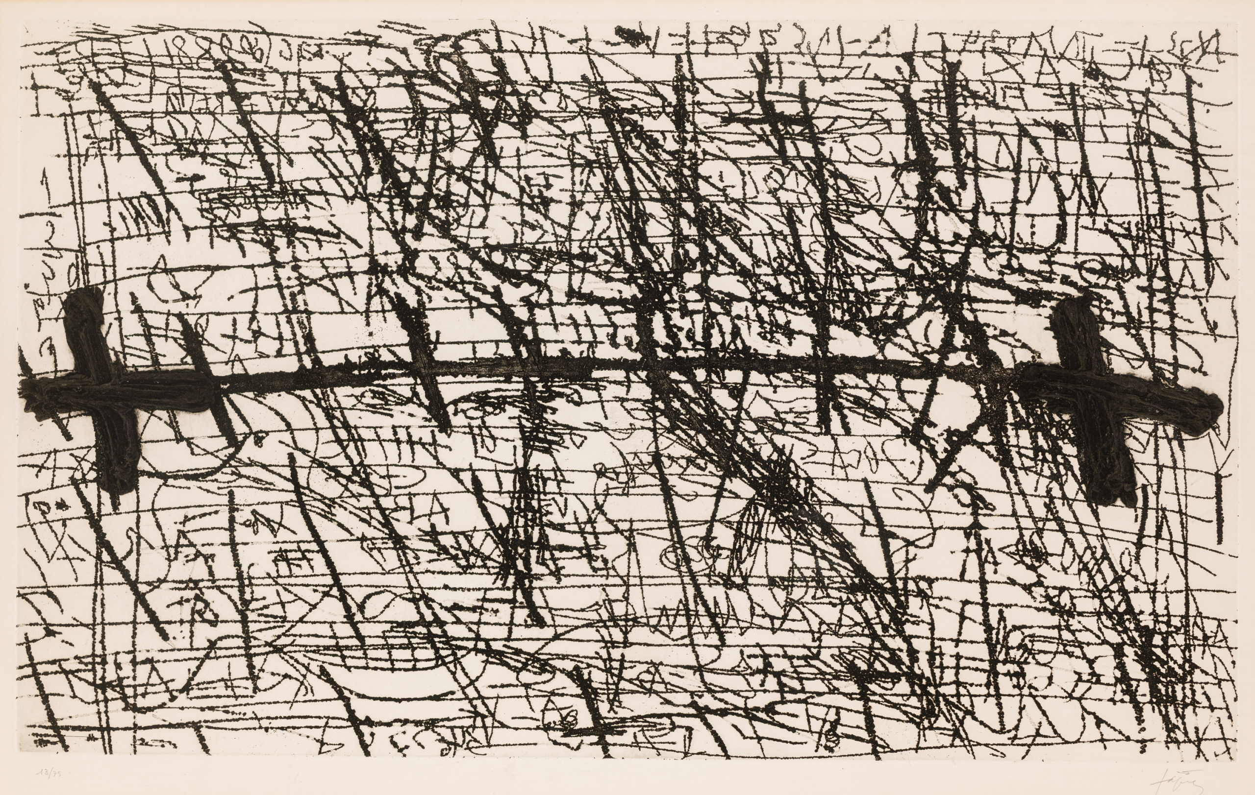Antoni Tapies, Ohne Titel / untitled