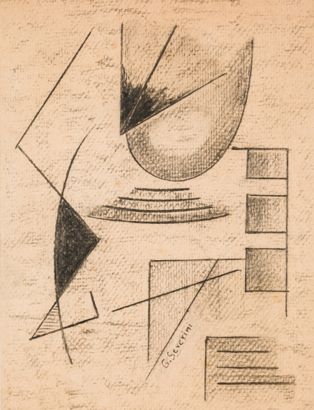 Gino Severini, Komposition