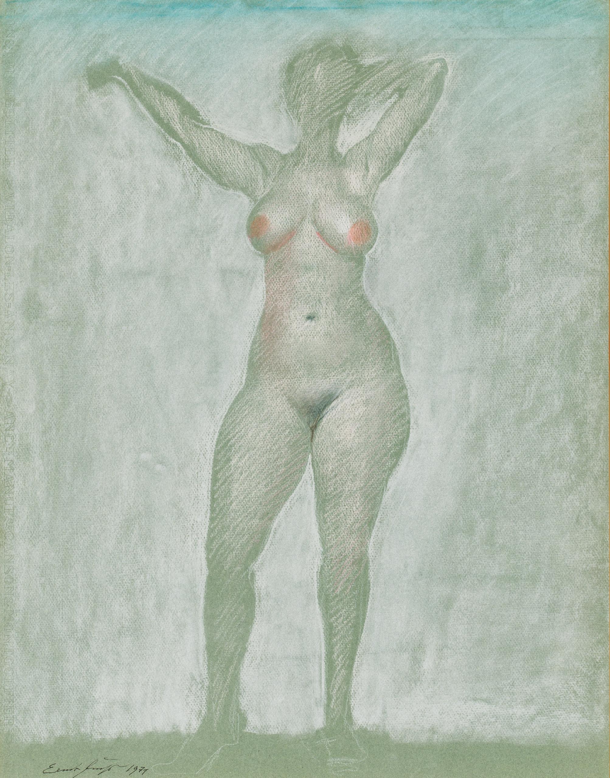 Ernst Fuchs, Die Einkleidung der Esther