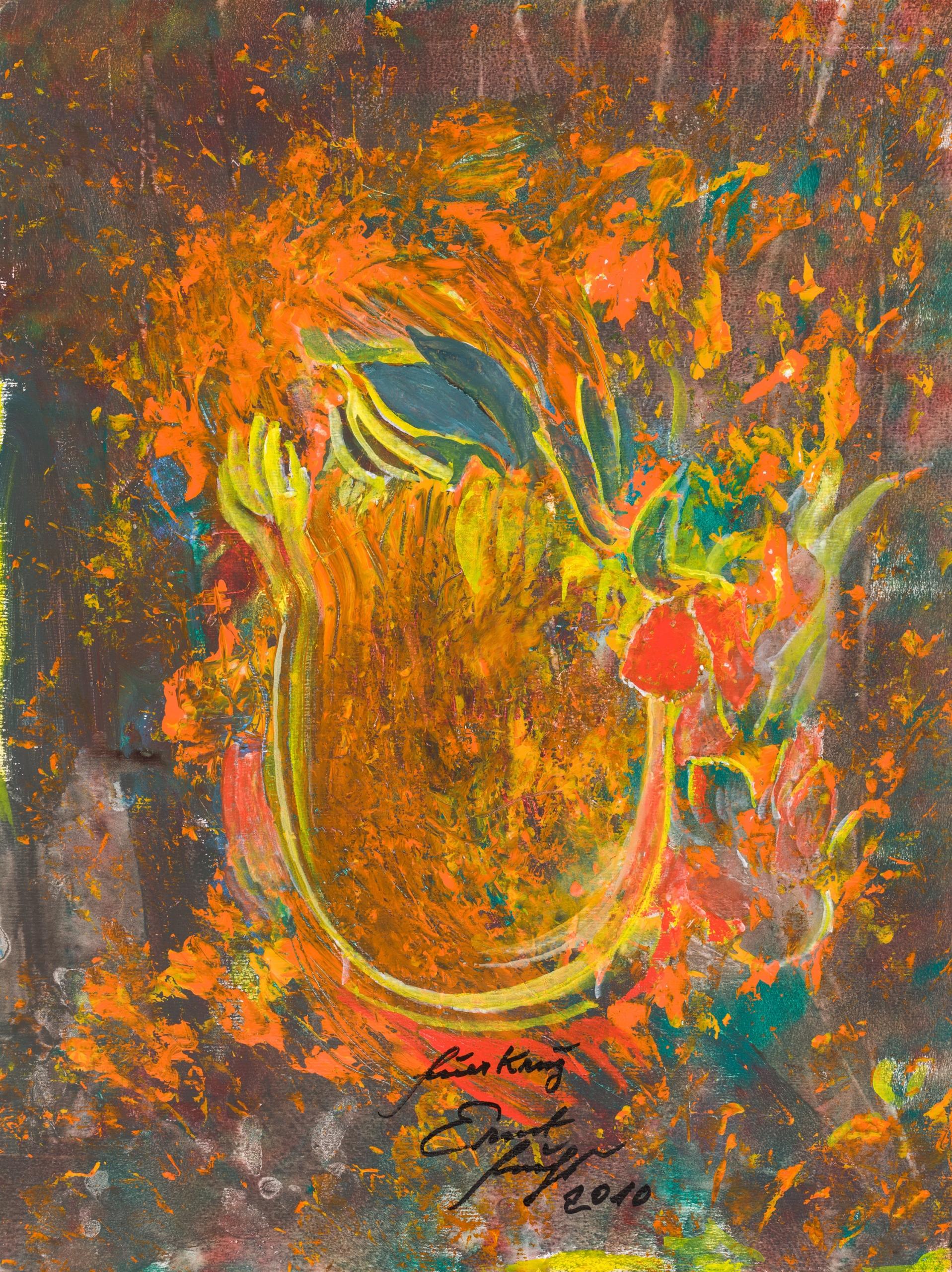 Ernst Fuchs, Feuerkrug