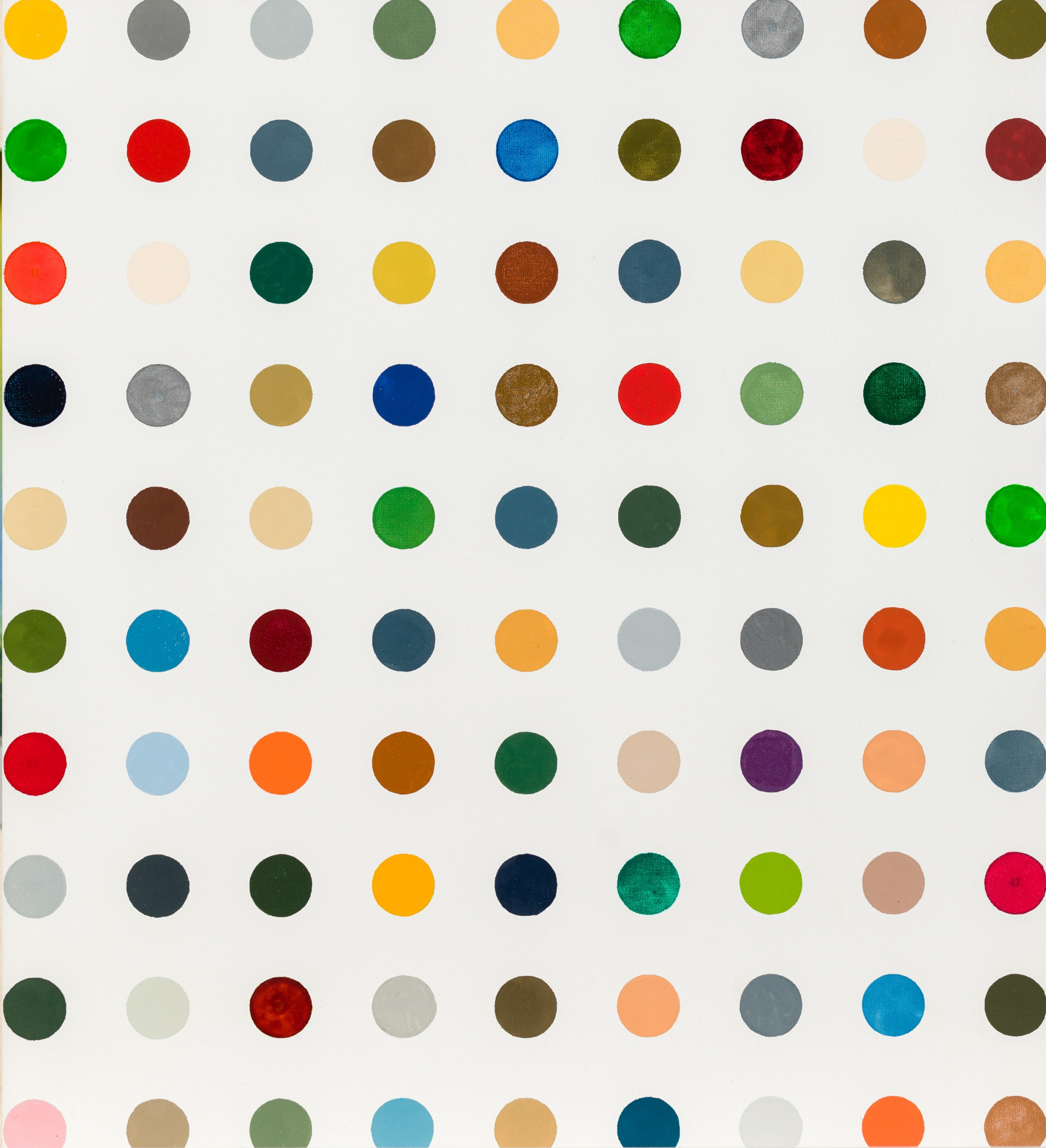 Damien Hirst, Painting-By-Numbers