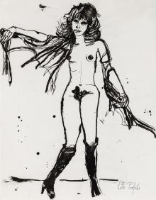 Lotte Profohs, Pariser Modell