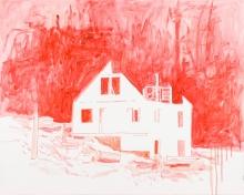 Alois Mosbacher, Ohne Titel (Rotes Haus)