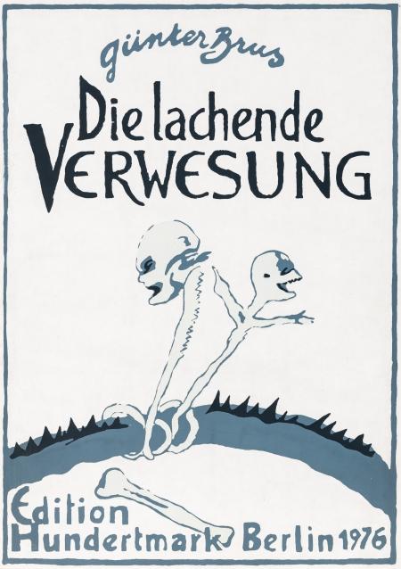 Günter Brus, Die lachende Verwesung (Bildgeschichte in 11 Tafeln, Leporello)
