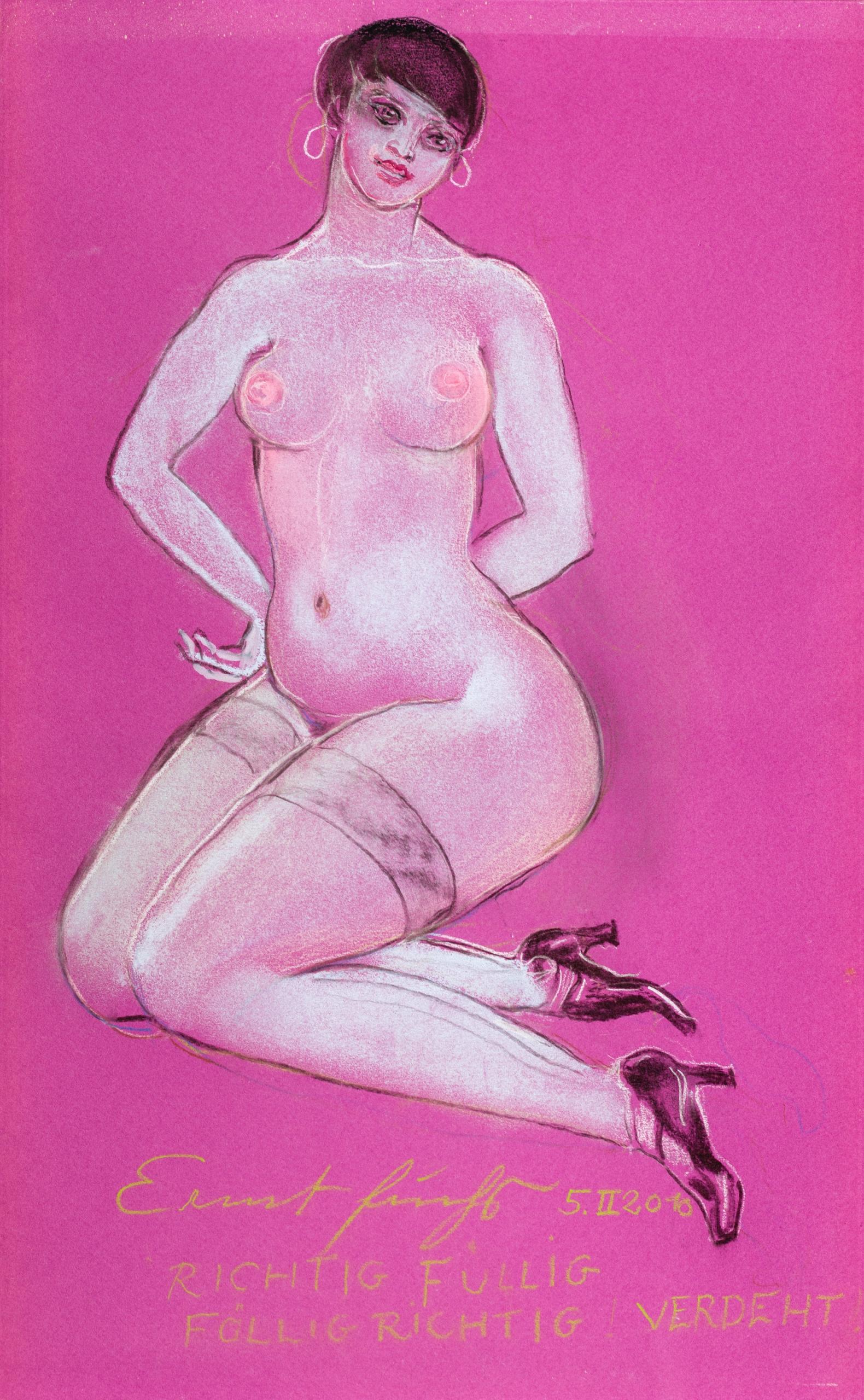 Ernst Fuchs, Richtig füllig füllig richtig verd(r)eht