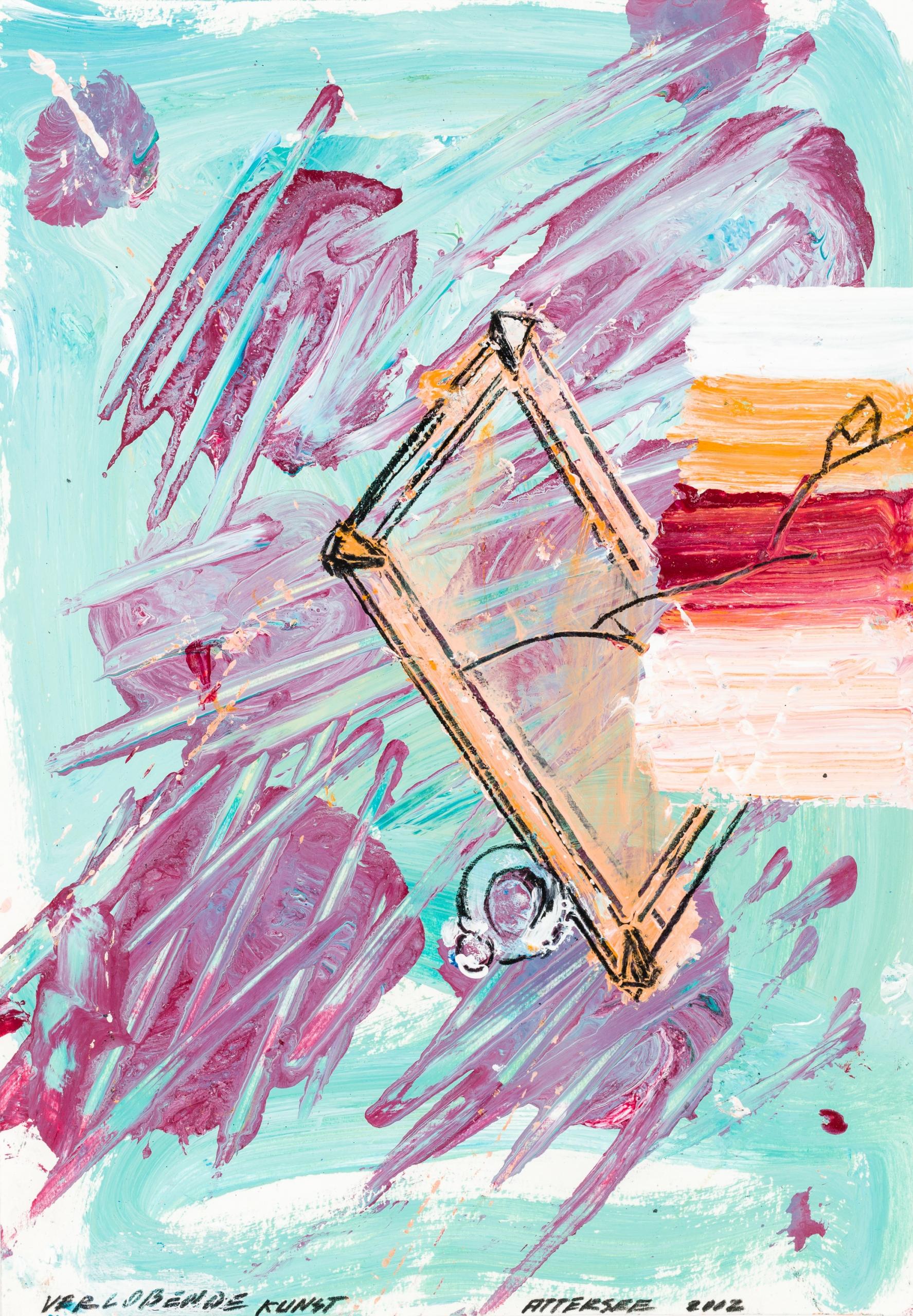 Christian Ludwig Attersee, Verlobende Kunst