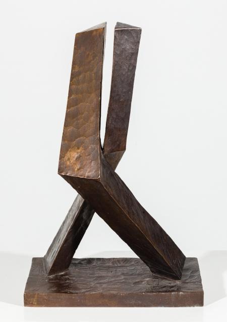 "Oskar E. Höfinger, Liebespaar (aus dem Zyklus ""Er fliegt auf sie"")"