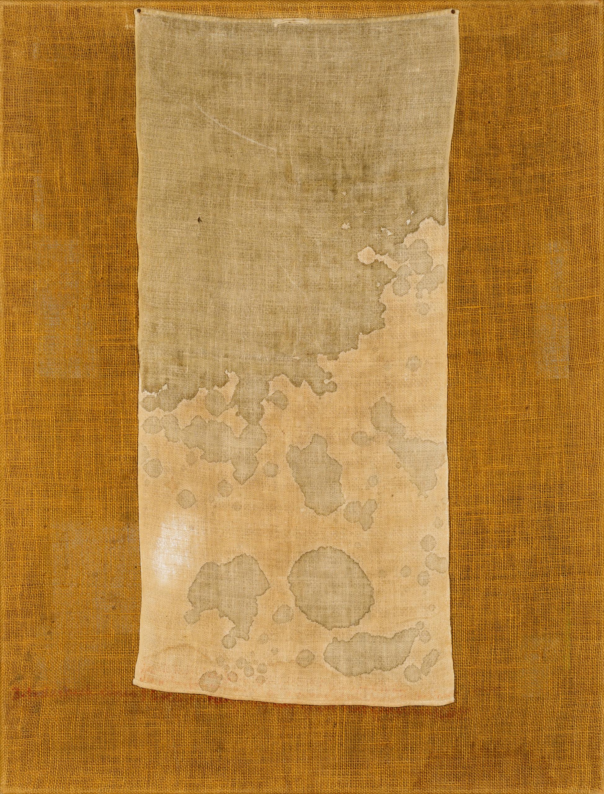 Hermann Nitsch, Ohne Titel (Bodentuch) / untitled (floor cloth)