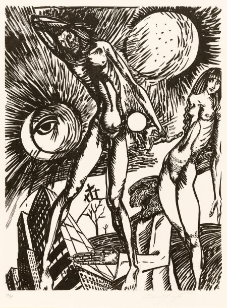 Ernst Fuchs, Kataklysmen