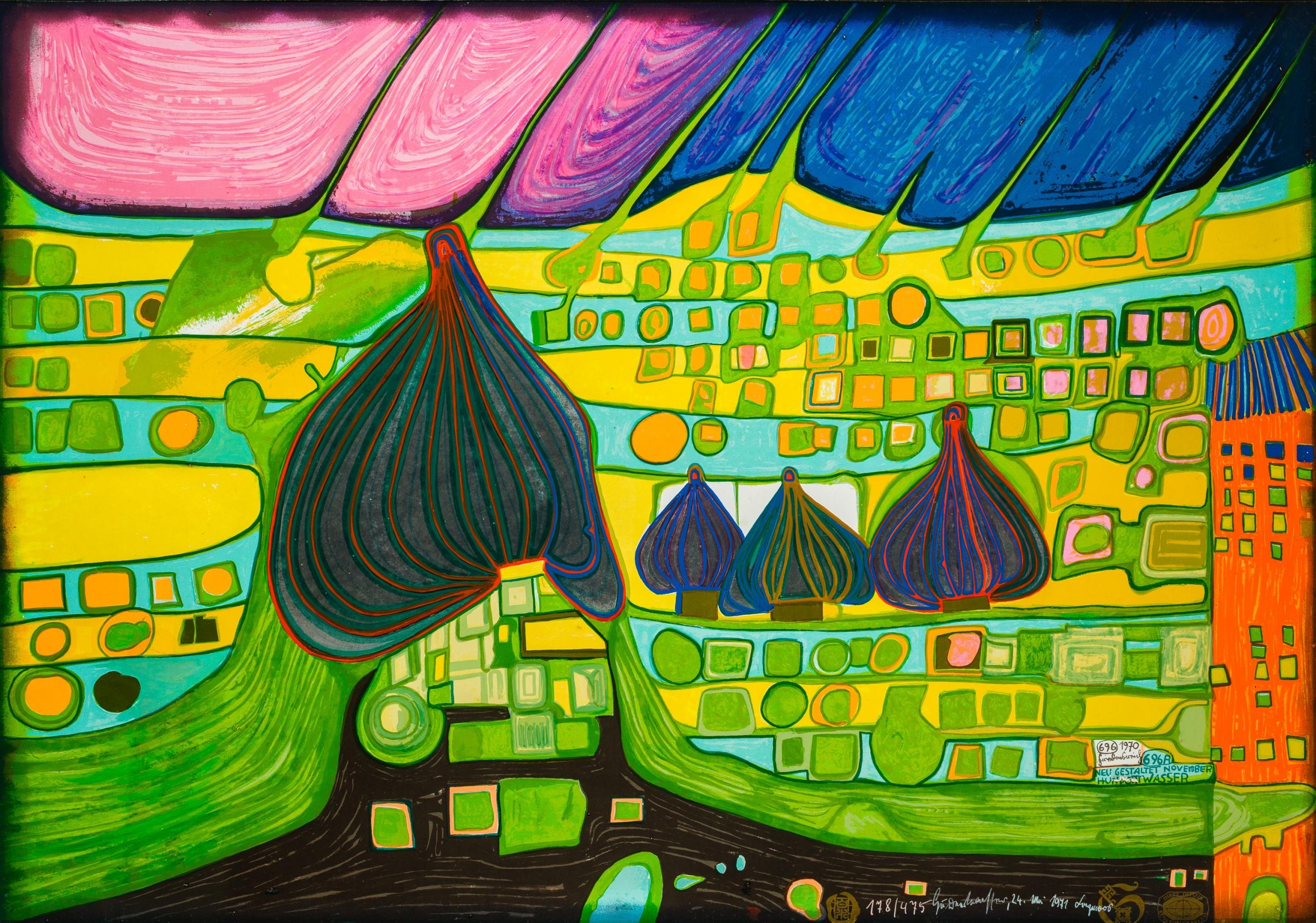 Friedensreich Hundertwasser, Testament in Gelb