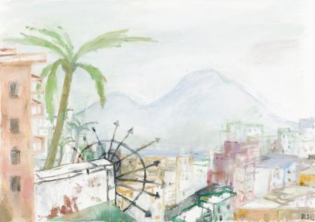 Rudolf Hradil, Vesuv (Neapel)