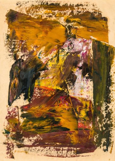 Ferdinand Stransky, Abstrakte Komposition