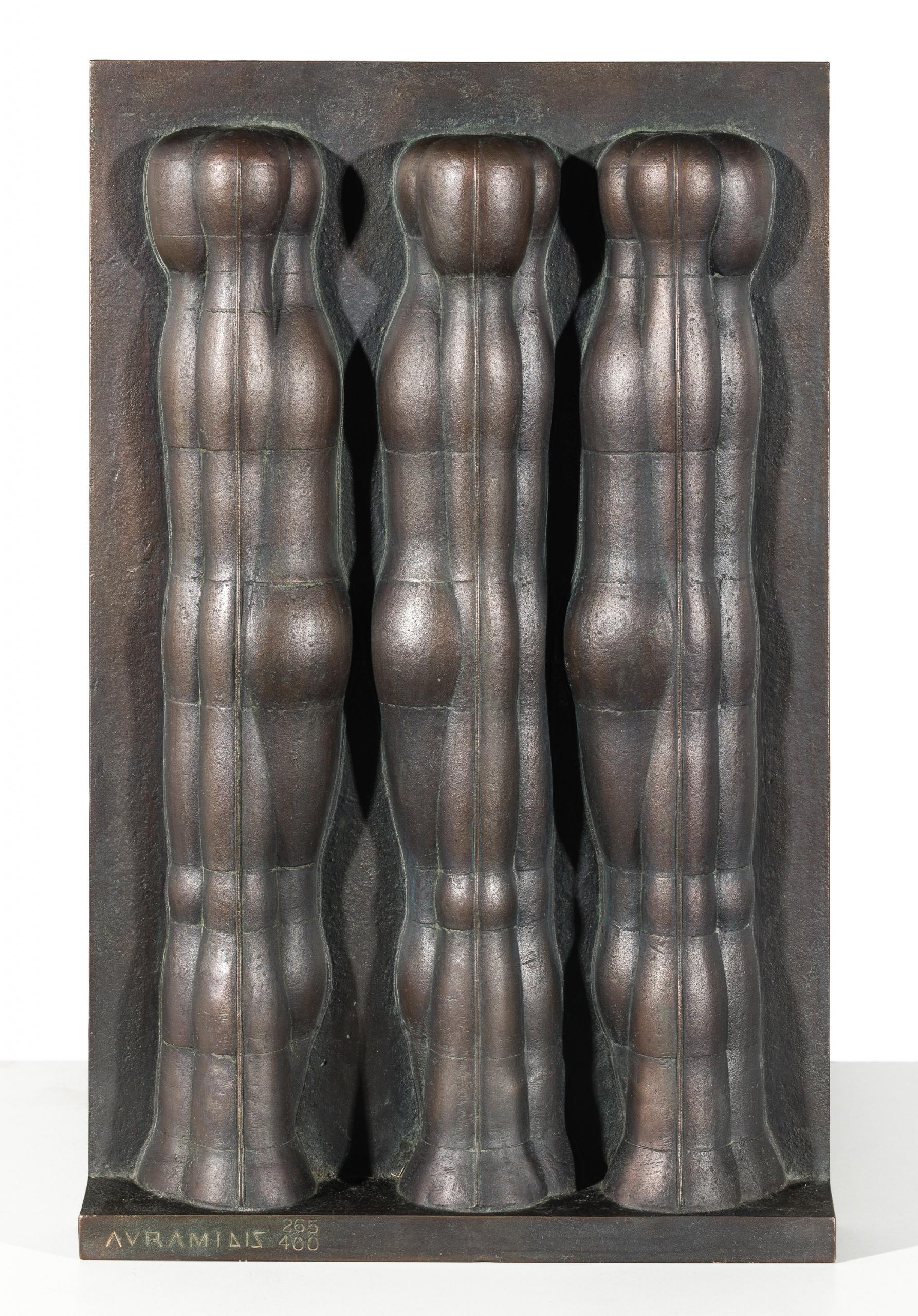 Joannis Avramidis, Relief mit drei Figuren