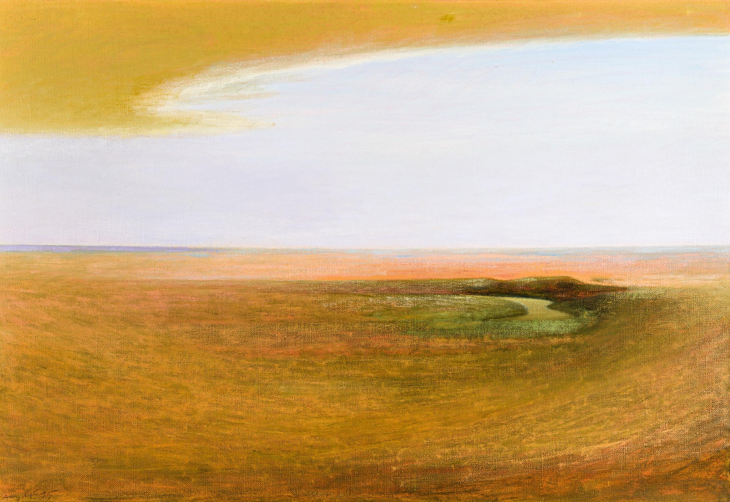 Eduard Angeli, Der Fluss
