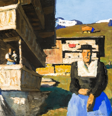 Alfons Walde, Berghof