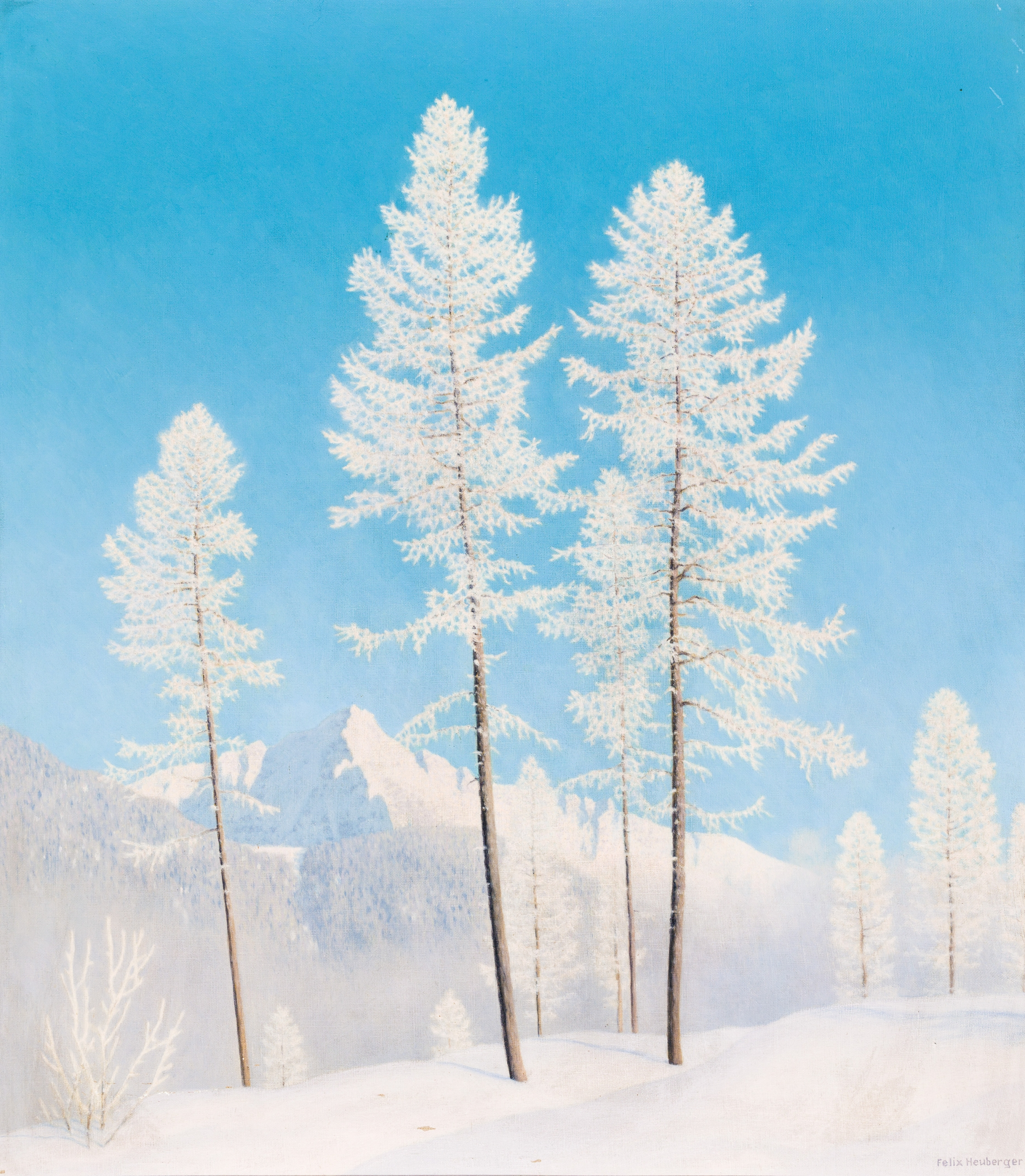 Felix Heuberger, Winterlandschaft