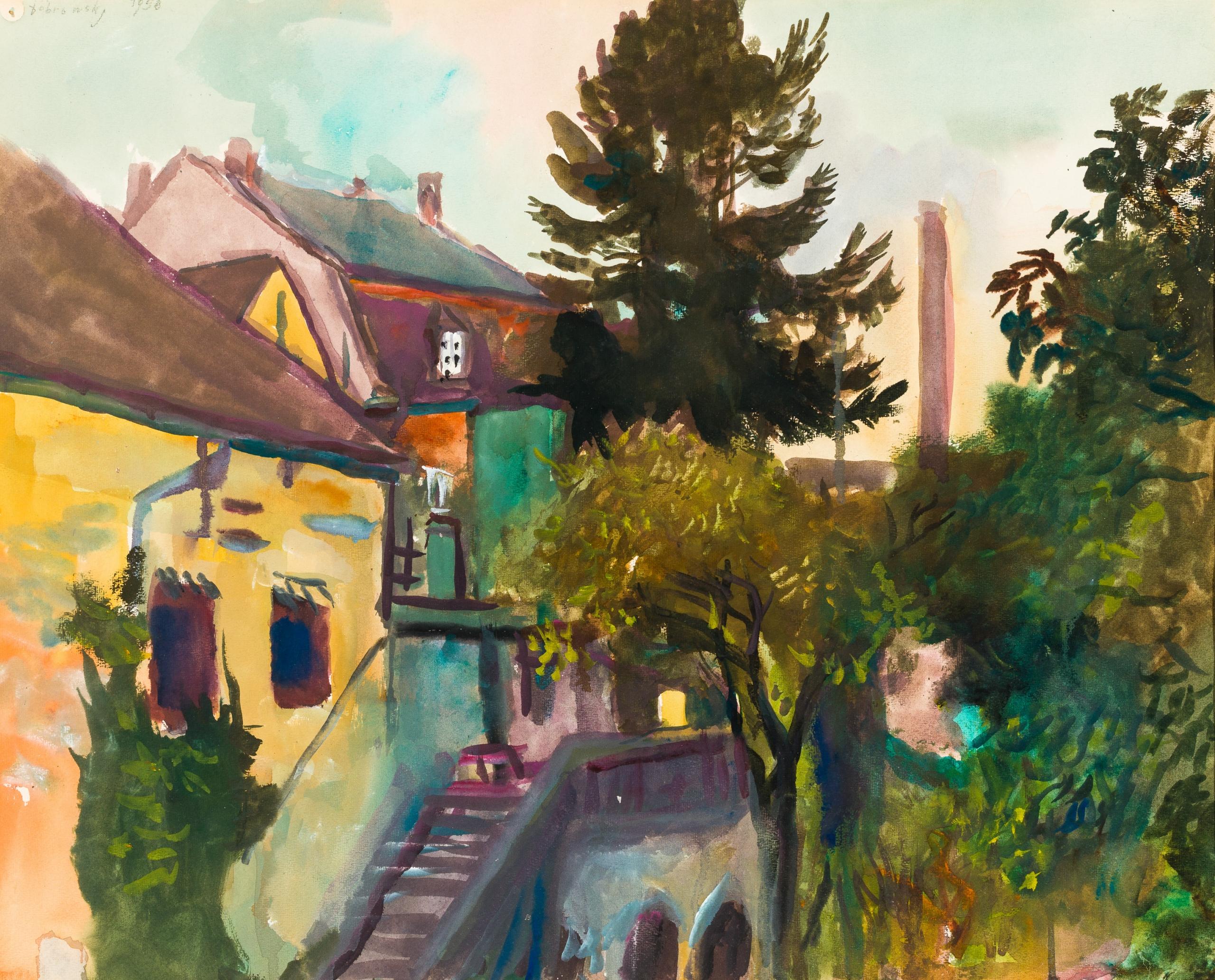 Josef Dobrowsky, Burggraben - Ybbs a.d. Donau