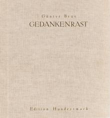 Günter Brus, Gedankenrast (Eisheil 19) in Original-Leinenbuch